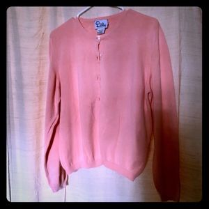 Lilly Pulitzer Sunset Coral Cardigan Sweater